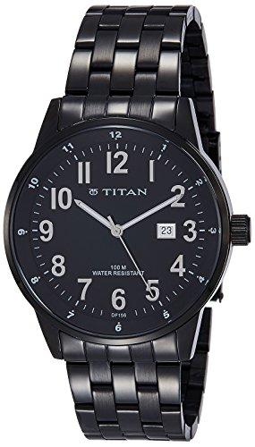 41KUEbyT30L - Titan 9441NM01J Metal for Men watch