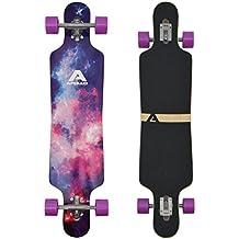 Apollo Longboard Supernova tabla completa rodamiento de bolas High Speed ABEC, Drop Through Freeride Skating Cruiser Board…