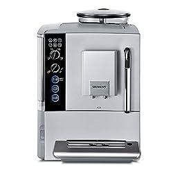 Siemens EQ.5 TE501501DE Kaffeevollautomat (1600 Watt, Keramik-Mahlwerk, Dampfdüse) silber
