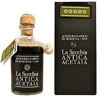 """La Secchia - Aceto Balsamico di Modena I.G.P. """"Cinque Stelle"""" Affinato in 20 Botticelle - Alta Densità - Bottiglia 250…"""
