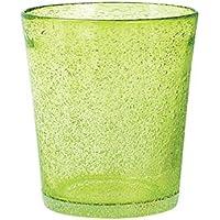 H&H Giada Bicchiere Giada Bibita, 46 cl, Vetro, Verde, 1 pezzo