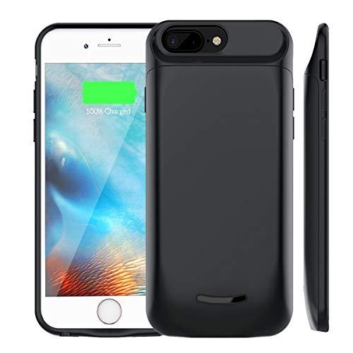 6b36c701a07 Funda Bateria iPhone 6Plus/7Plus/8Plus , Soluser 5000mAh Batería Cargador  Externa Ultra Recargable