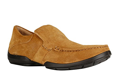Woodland Men's Camel Moccasins