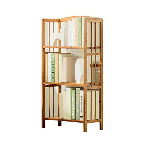 Librerie Libreria supporto da pavimento scaffale a 3 piani armadio per giocattoli libreria scolastica scarpiera ripiano per cucina portante 270 kg regalo ( Color : Wood color , Size : 25*70*98cm )