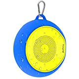 Bluetooth Speaker, Axloie Waterproof Mobile Speakers Wireless Support with TF Card Aux
