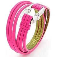 ENERGETIX Armband mit Link Verschluß Pink / Gold m-l preisvergleich bei billige-tabletten.eu