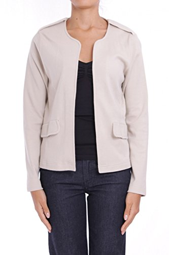 ANTA Q'ULQI - Giacca / Blazer in jersey 100% cotone Pima biologico - beige, XL