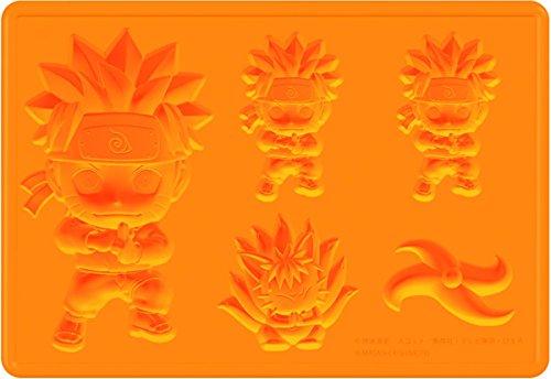 (Naruto Naruto Silikon-Eiswürfelform, vielseitig verwendbar: Form kann mit Babynahrung, Wasser, Obst, Eis, Soda, Wein etc. gefüllt werden.)