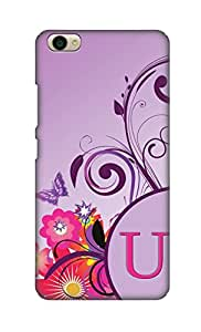 SWAGMYCASE Printed Back Cover for Vivo Y55
