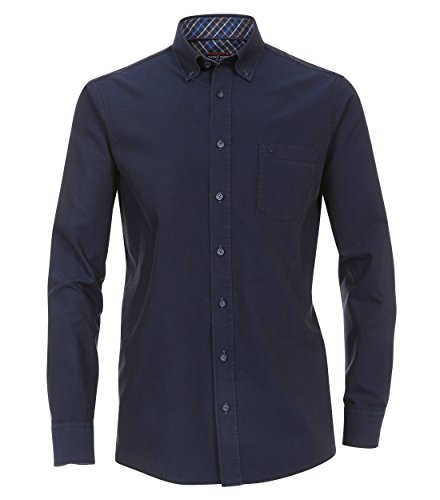 Casa Moda - Comfort Fit - Herren Oxford Hemd mit Button Down Kragen (462547700A) Blau (101)