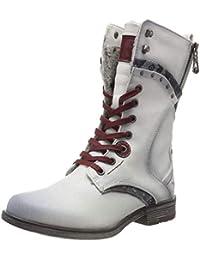3c301a209ab8 Suchergebnis auf Amazon.de für  Elfenbein - Stiefel   Stiefeletten ...