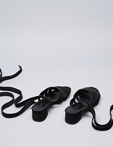 FIND Molly Sandales Femme Noir (Black)