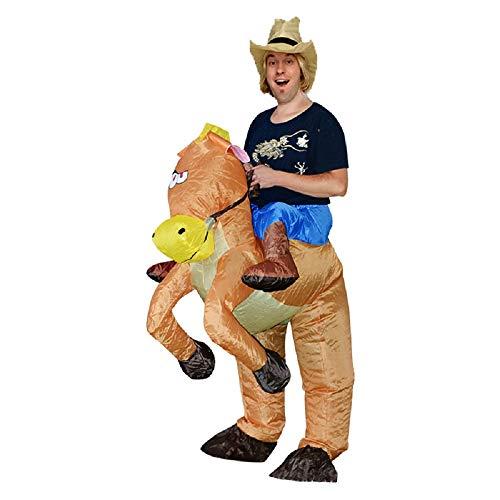 EBay Amazon Ist Verkauf Explosive Multi-farbe Aufblasbare Qianli Pferd Kleidung Für Erwachsene Mit Walking Puppen (Halloween-kostüme Von Verkauf Ebay)