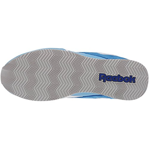 Reebok Royal Cl Jog 2hs, Scarpe da Corsa Donna Blu / Bianco / Rosso / Grigio (Blue Splash / Ele Blue / Wht / Motor Red / Steel)