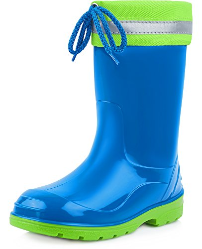 Ladeheid Children´s Rubber Wellington Boots with Top LA-972
