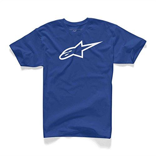 Alpinestars Herren T-Shirt Ageless 1032-72030 - royal-blau-weiss
