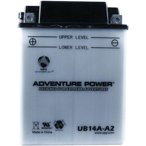 UPG ub14a-a2–OEM yb14a-a2–Motorrad Batterie–Konventionelles Wet Pack–12Volt–14Ah Kapazität–D Terminal