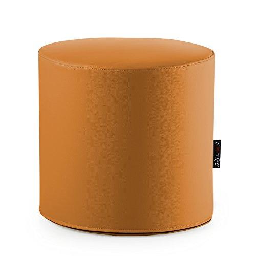 pouff-puff-puf-pouf-rond-orange-adapte-a-assise-et-repose-pieds-en-cuir-synthetique-mis44-x-h42-cmde