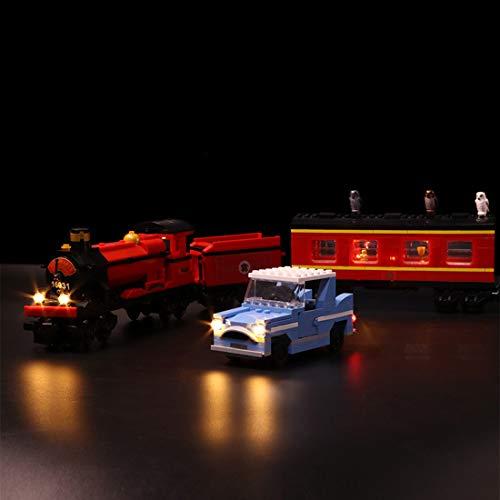 BANDRA LED Luci LED Kit - Light LED Set per Lego 4841 - Harry Potter L\'Espresso per Hogwarts (Non Incluso Il Modello Lego)