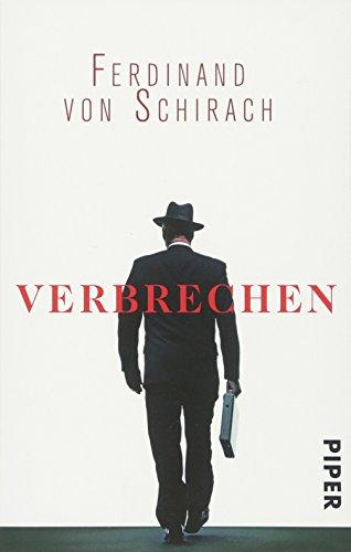 Buchcover Verbrechen: Stories