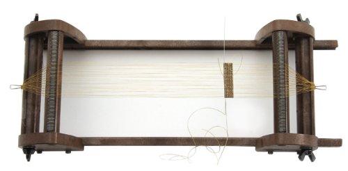 Rayher Hobby 7200000 Webrahmen für Erwachsene, Webbreite 9,5 cm, auch zum Perlenweben