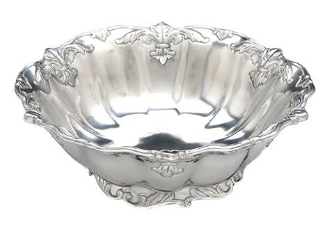 Arthur Court Fleur-De-Lis 12-Inch Salad Bowl