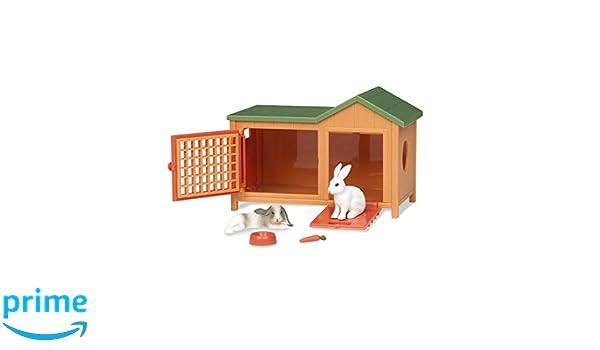 Battat Terra da AN2103Z Coniglio Hutch Animale Domestico Playset