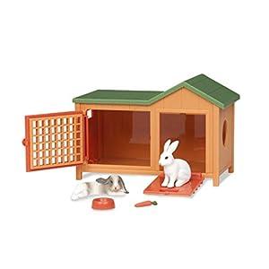 Battat Terra by AN2103Z- Juego de Conejos para Mascotas