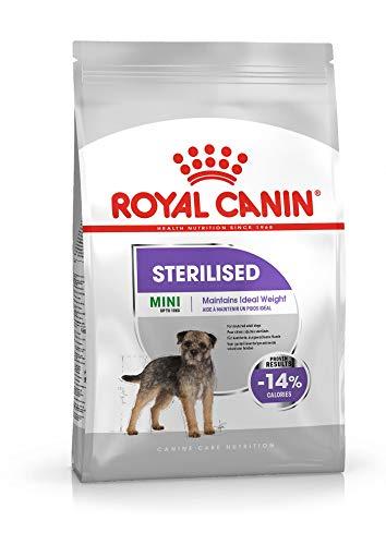 ROYAL CANIN Pienso Mini Sterilised para Perros Pequeños Esterilizados Saco 3 kg