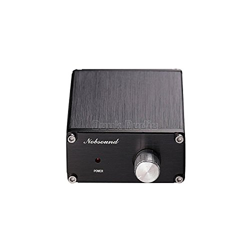 41KUWV3Tp4L. SS500  - Nobsound 100W Subwoofer Digital Power Amplifier Audio Mini Amp with power supply (Black)