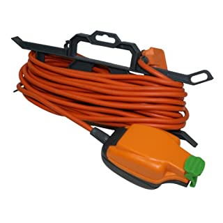 Masterplug CT1510/IPS 13amp 1 Socket IP54 Weatherproof 15 meter Extension Lead With Cable Tidy