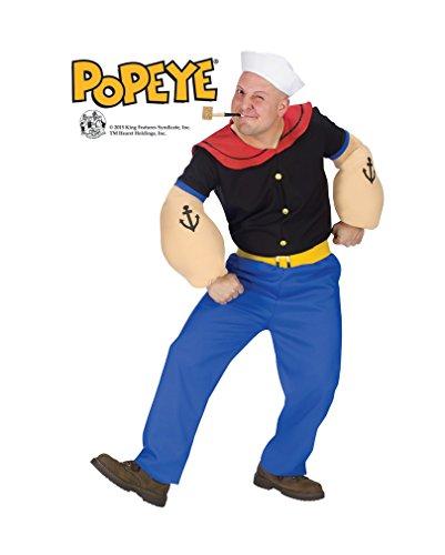 Original Popeye Kostüm ML (Popeye Kostüme Arme)
