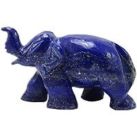 Harmonize Dekorative Hand Geschnitzt Lapislazuli Meditation Auswuchten Edelstein Elefanten-Statue Reiki Healling... preisvergleich bei billige-tabletten.eu