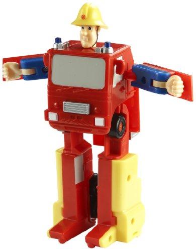 Feuerwehrmann Sam FS03529 - 2in1 Feuerwehrmann Sam und Feuerwehrwagen (Sam Feuerwehrmann Spielzeug-fahrzeug)