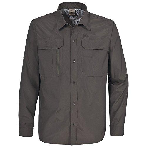 Trespass Herren Bonar Shirt Khaki dunkel