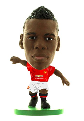SOCCERSTARZ SOC1121 Man Utd Paul Pogba Home Kit