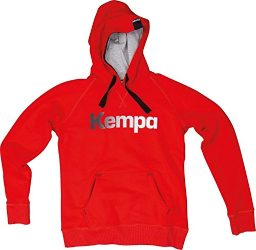 Kempa Statement felpa con cappuccio Rosso - Fire Rot