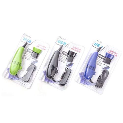 Ailizhen Secador de Teclado USB,aspiradora Mini aspiradora,limpiadora portátil,aspiradora USB,Color Aleatorio.(None Color Random)