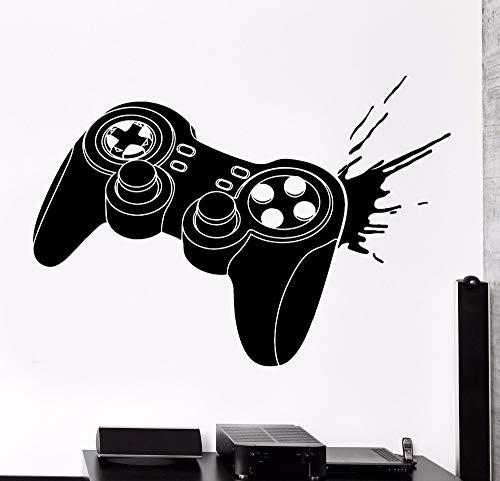 jiuyaomai Wandaufkleber Gaming Joystick J Gameplay Gamer Vinyl Aufkleber 76x118cm