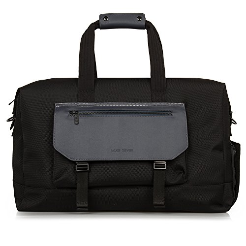 fe949057869e Land Rover Nylon and Leather Weekender Bag - Black Bolsa de Tela y Playa