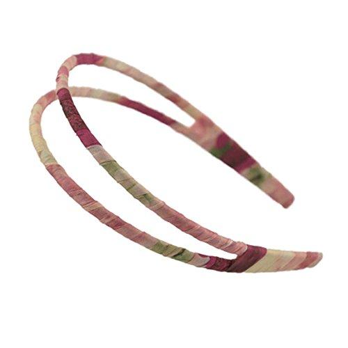 Filles élégant Coiffe Cheveux Fermoir Élégant Double-deck Bandeau Band Hair A