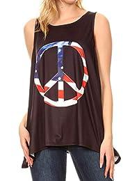 itMaglie Canotte Amazon E Donna Estive Shirt Top T 3ARqc4j5L