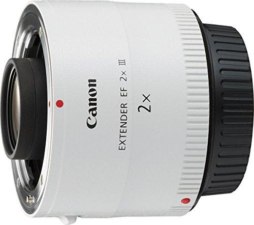 Galleria fotografica Canon Extender EF 2x III Teleobiettivo con Zoom, Bianco