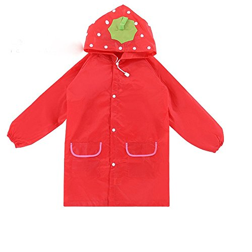 Funny Cartoon Raincoat, Children Cute Funny Cartoon Rain Gear Raincoat By Sunshine D Unisex Animal Pattern Rainwear For 3-8 years old Kids