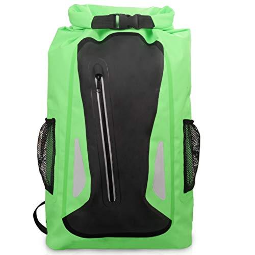 Centeraly 25 l Ultraleichter reflektierender Rucksack wasserdicht Aufbewahrung Reise Camping Outdoor, grün, Free Size