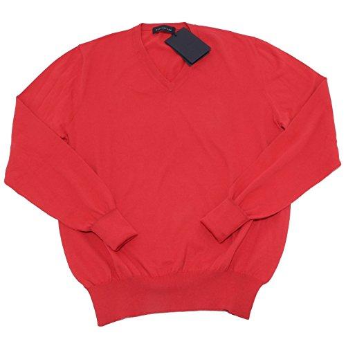 6694M BALLANTYNE maglione uomo cotone red jumper men [56]