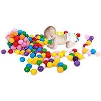 BaBaSM Praktisch Ocean Balls für Bällebad, 20 Stück Bunte Kunststoff Ocean Ball Baby Kinder Spielzeug Swim Pit