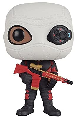 Suicide Squad Deadshot Masked Vinyl Figure 106 Figurine de collection