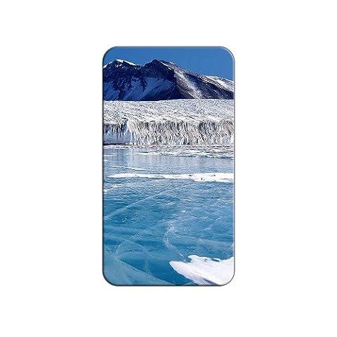 Antarctica South Pole Ice Flows Metal Lapel Hat Shirt Purse Bag Pin Tie Tack Pinback