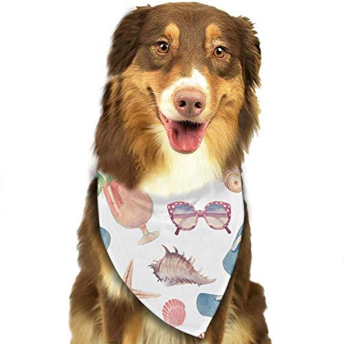 Hipiyoled Sommerferien-Retro-Muster-stilvolle Nette lustige Party-Mädchen-Jungen-Hundebandana modern